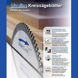 AKE blueline Aluminium-Kreissägeblatt HW negativ sehr fein – Ø 200 mm, Bohrung 30 mm
