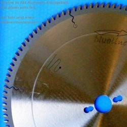 blueline by AKE Aluminium-Kreissägeblatt HW positiv extra fein – Ø 300 mm, Bohrung 30 mm