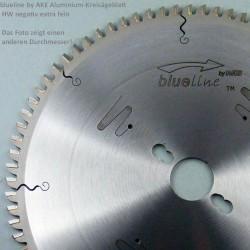 blueline by AKE Aluminium-Kreissägeblatt HW negativ extra fein – Ø 254 mm, Bohrung 30 mm