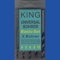 KING Universalbohrer Basis-Set