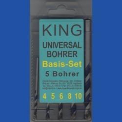 KING Universalbohrer Basis-Set
