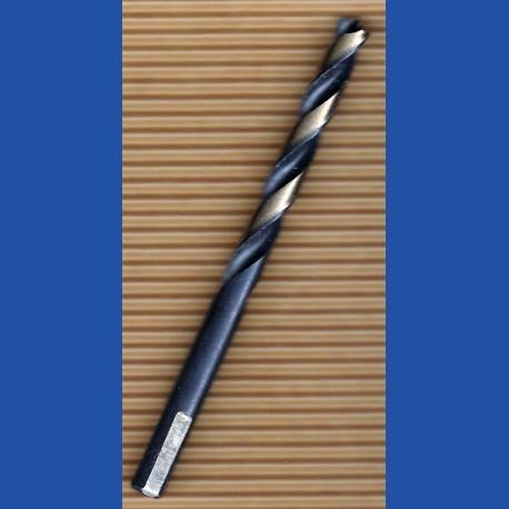 rictools Edelstahlbohrer HSS-G-Co spezial plus Ø 9 mm   Gesamtlänge 125 mm, Arbeitslänge 81 mm