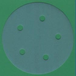 sia Haft-Schleifscheiben AU – Ø 125 mm 5-fach gelocht, K280 fein