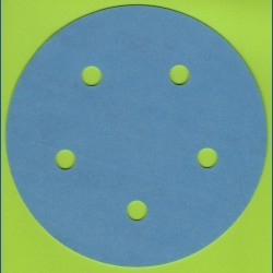 sia Haft-Schleifscheiben AU – Ø 125 mm 5-fach gelocht, K320 sehr fein