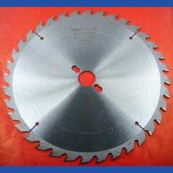 EDN Hartmetallbestücktes Kreissägeblatt QW Wechselzahn mittelgrob – Ø 300 mm, Bohrung 30 mm
