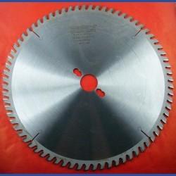 EDN Hartmetallbestücktes Kreissägeblatt KW Wechselzahn sehr fein – Ø 300 mm, Bohrung 30 mm