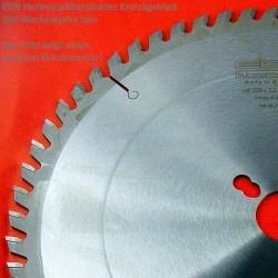 EDN Hartmetallbestücktes Kreissägeblatt GW Wechselzahn fein – Ø 250 mm, Bohrung 30 mm