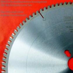 EDN Hartmetallbestücktes Kreissägeblatt VW Wechselzahn extra fein – Ø 400 mm, Bohrung 30 mm