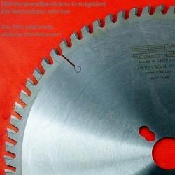 EDN Hartmetallbestücktes Kreissägeblatt KW Wechselzahn sehr fein – Ø 280 mm, Bohrung 30 mm