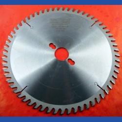 EDN Hartmetallbestücktes Kreissägeblatt KW Wechselzahn sehr fein – Ø 250 mm, Bohrung 30 mm