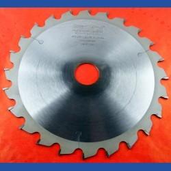 EDN Hartmetallbestücktes Kreissägeblatt WKN spezial gelb für Kappsägen mittel – Ø 209 mm, Bohrung 30 mm