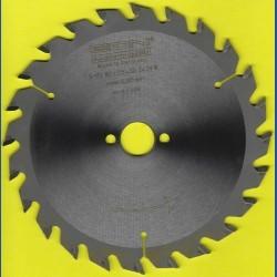 EDN Hartmetallbestücktes Kreissägeblatt Serie 05 gelb Wechselzahn mittel – Ø 160 mm, Bohrung 20 mm