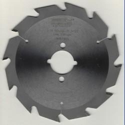 EDN Hartmetallbestücktes Kreissägeblatt Serie 05 weiß Flachzahn grob – Ø 150 mm, Bohrung 30 mm