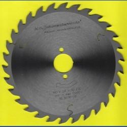 H.O. Schumacher+Sohn Hartmetallbestücktes Kreissägeblatt Standard Mittelzahn – Ø 190 mm, Bohrung 30 mm