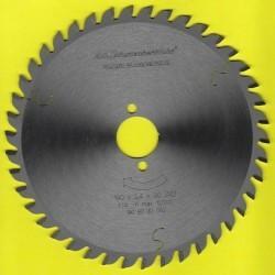 H.O. Schumacher+Sohn Hartmetallbestücktes Kreissägeblatt Standard Feinzahn – Ø 190 mm, Bohrung 30 mm