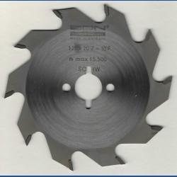 EDN Hartmetallbestücktes Kreissägeblatt Serie 05 weiß Flachzahn grob – Ø 120 mm, Bohrung 20 mm