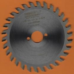 EDN Hartmetallbestücktes Kreissägeblatt Serie 05 orange Wechselzahn fein – Ø 120 mm, Bohrung 20 mm
