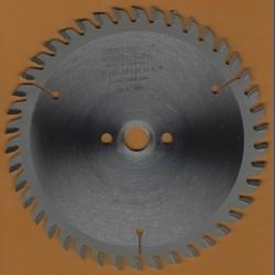 EDN Hartmetallbestücktes Kreissägeblatt Serie 05 gold Wechselzahn extra fein – Ø 140 mm, Bohrung 12,7 mm (1/2'')