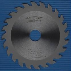 blueline by AKE Handkreissägeblatt HW Wechselzahn fein schmal für Sägen von Mafell – Ø 120 mm, Bohrung 20 mm