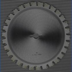 LUX Quattro Hartmetallbestücktes Universal-Kreissägeblatt – Ø 156 mm, Bohrung 12,75 mm (1/2'')