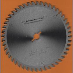 H.O. Schumacher+Sohn Hartmetallbestücktes Präzisions-Kreissägeblatt Feinstzahn – Ø 156,5 mm, Bohrung 12,7 mm (1/2'')