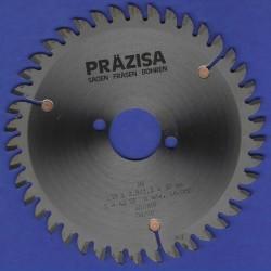 PRÄZISA Jännsch Hartmetall-Mehrzweck-Kreissägeblatt COMET, Type TF Trapez-Flachzahn negativ – Ø 150 mm, Bohrung 20 mm