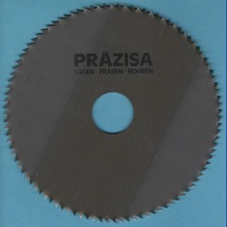 PRÄZISA Jännsch Chrom-Vanadium Kreissägeblatt Type B Feinzahn – Ø 160 mm, Bohrung 30 mm