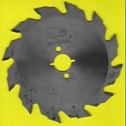 toolboss Hartmetallbestücktes Kreissägeblatt Standard Grobzahn – Ø 140 mm, Bohrung 20 mm