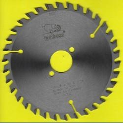 toolboss Hartmetallbestücktes Kreissägeblatt Standard Feinzahn – Ø 160 mm, Bohrung 30 mm