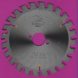 toolboss Hartmetallbestücktes Kreissägeblatt VARIOfix – Ø 170 mm, Bohrung 30 mm