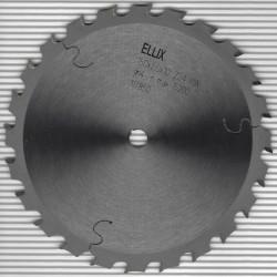 ELLIX Hartmetallbestücktes Kreissägeblatt schmal für Akkusägen Mittelzahn – Ø 150 mm, Bohrung 10 mm