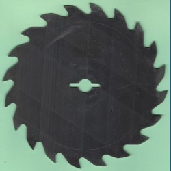 toolboss Kreissägeblatt Chrom-Vanadium A Grobzahn – Ø 156,5 mm, Bohrung 12,7 mm (1/2'')