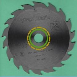 FESTOOL Standard Kreissägeblatt HW W 18 schmal für HKC 55 – Ø 160 mm, Bohrung 20 mm