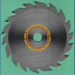PROTOOL Standard Kreissägeblatt HW W 18 für CSP 55 und 56 – Ø 160 mm, Bohrung 20 mm