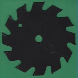 Pohlhaus Kreissägeblatt hartmetallbestückt antihaftbeschichtet Hobby Flachzahn grob – Ø 125 mm, Bohrung 12,7 mm (1/2'')