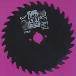 WAGNER Black Cut CV Kreissägeblatt Wolfszahn grob mit Antihaftbeschichtung – Ø 125 mm, Bohrung 12,75 mm (1/2'')