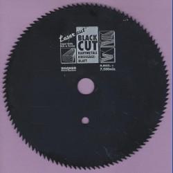 WAGNER Black Cut CV Kreissägeblatt Spitzzahn extra fein mit Antihaftbeschichtung – Ø 160 mm, Bohrung 16 mm
