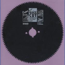 WAGNER Black Cut CV Kreissägeblatt Spitzzahn extra fein mit Antihaftbeschichtung – Ø 130 mm, Bohrung 13 mm