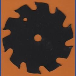 WAGNER Black Cut HM Kreissägeblatt Flachzahn grob mit Antihaftbeschichtung – Ø 125 mm, Bohrung 12,7 mm (1/2'')