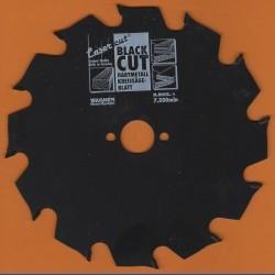 WAGNER Black Cut HM Kreissägeblatt Flachzahn grob mit Antihaftbeschichtung – Ø 160 mm, Bohrung 20 mm