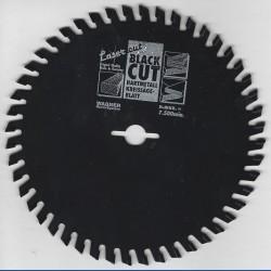 WAGNER Black Cut HM Kreissägeblatt Wechselzahn extra fein mit Antihaftbeschichtung – Ø 156 mm, Bohrung 12,7 mm (1/2'')
