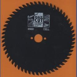 WAGNER Black Cut HM Kreissägeblatt Wechselzahn extra fein mit Antihaftbeschichtung – Ø 180 mm, Bohrung 20 mm