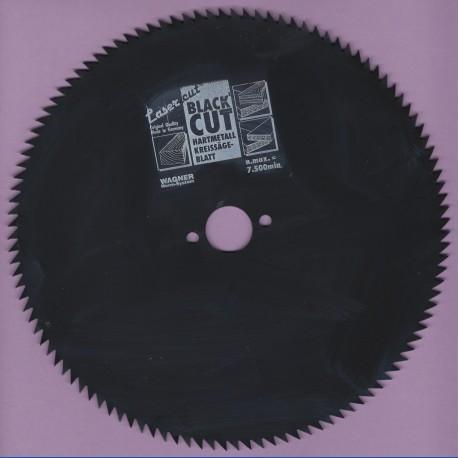 WAGNER Black Cut CV Kreissägeblatt Spitzzahn extra fein mit Antihaftbeschichtung – Ø 190 mm, Bohrung 20 mm