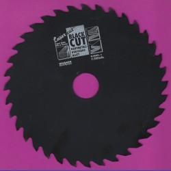 WAGNER Black Cut CV Kreissägeblatt Wolfszahn grob mit Antihaftbeschichtung – Ø 190 mm, Bohrung 30 mm