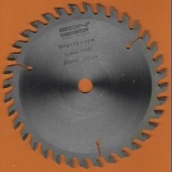 EDN Hartmetallbestücktes Kreissägeblatt Serie 05 orange Wechselzahn fein – Ø 150 mm, Bohrung 13 mm