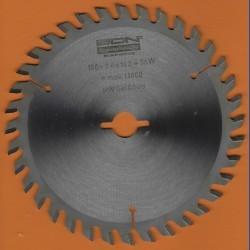 EDN Hartmetallbestücktes Kreissägeblatt Serie 05 orange Wechselzahn fein – Ø 150 mm, Bohrung 16 mm
