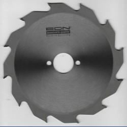 EDN Hartmetallbestücktes Kreissägeblatt Serie 05 weiß Flachzahn grob – Ø 180 mm, Bohrung 30 mm