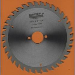 EDN Hartmetallbestücktes Kreissägeblatt Serie 05 orange Wechselzahn fein – Ø 180 mm, Bohrung 30 mm