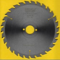 EDN Hartmetallbestücktes Kreissägeblatt Serie 05 gelb Wechselzahn mittel – Ø 200 mm, Bohrung 30 mm