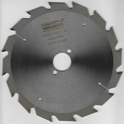 EDN Hartmetallbestücktes Kreissägeblatt Serie 05 weiß Flachzahn grob – Ø 200 mm, Bohrung 30 mm
